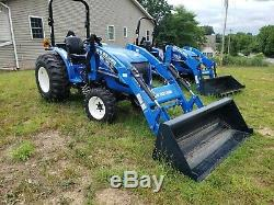 2017 New Holland Workmaster 35 Tractor with Loader