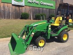 2018 John Deere 1025R Utility Tractors