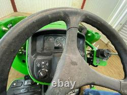 2018 John Deere 3025e Hst Compact Tractor With 4wd