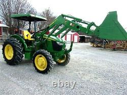 2018 John Deere 5065E 4x4 Loader 398 Hours- FREE 1000 MILE DELIVERY FROM KY