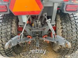 2018 KUBOTA B3350HSD TRACTOR With LOADER & BELLY MOWER, CAB, 4X4, HYDRO, 413 HRS