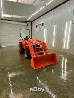 2018 KUBOTA L2501 4X4 TRACTOR WITH LA525 LOADER WithPIN ON BUCKET