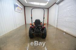 2018 Kubota B2301 Hst 4wd Tractor, Open Rops, La434 Loader, 3 Pt Arms