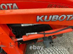 2018 Kubota B3350 4x4 Hydro 33Hp Compact Tractor with Cab Loader Mower Only 400Hrs
