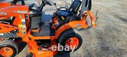 2018 Kubota BX1880 Compact Loader Tractor WithMower. Only 31 Hours! Warranty