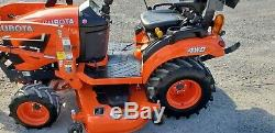 2018 Kubota BX2380 Compact Loader Tractor WithMower Only 24 Hours! Warranty
