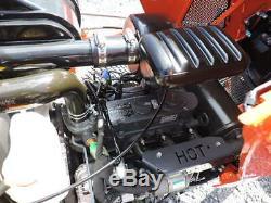 2018 Kubota BX2380 Sub Compact Tractor Loader Belly Mower 4X4 Diesel Warranty