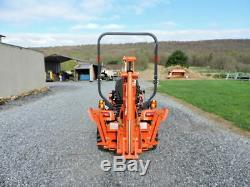 2018 Kubota BX23S Sub Compact Tractor Loader Backhoe 4X4 Diesel WARRANTY