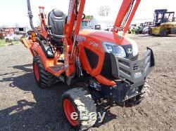2018 Kubota BX23S Tractor/Loader/Backhoe, 4WD, Hydro, 168 Hours