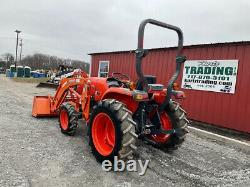 2018 Kubota L3901 4X4 39Hp Compact Tractor with Loader Only 100 Hours