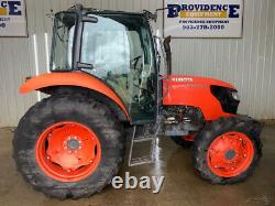 2018 Kubota M6060 Cab Tractor With A/c And Heat