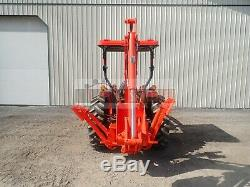 2018 Kubota Mx5200 Tractor Loader Backhoe Canopy 4x4 3 Point 540 Pto 394 Hr 54hp
