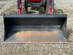 2018 MASSEY FERGUSON 1726 TRACTOR With LOADER, 2 POST ROPS, 4X4, 540 PTO, 97 HOURS