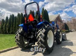2018 New Holland Workmaster 60 4x4 Tractor Loader Diesel 3 Point PTO NH 60 Hp