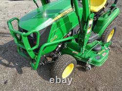 2019 John Deere 1023E Tractor, 4WD, Hydro, JD 120R Loader, ONLY 42 HOURS