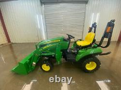 2019 John Deere 1023e Orops Compact Tractor With 2 Speed Hst