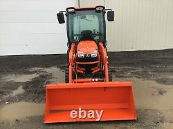 2019 KUBOTA B2650 TRACTOR With LOADER, CAB, 4X4, 3 PT, 540 PTO, HYDRO, 82 HRS