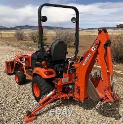 2019 Kabota Bx 23S Tractor Loader Backhoe