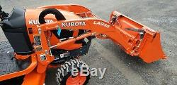 2019 Kubota BX2380 Compact Loader Tractor WithMower Only 30 Hours! Warranty