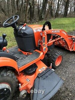 2019 Kubota BX2380 Compact Tractor 4x4 Diesel Loader Mower 58 Hours Warranty