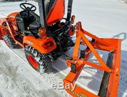 2019 Kubota Bx2380 Diesel 4x4 Loader Tractor With Only 15 Hrs! Comes W Scraper