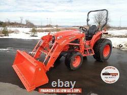 2019 Kubota L3560 Hst Tractor Loader, Hydro, 540 Pto, 4x4, 37 HP Diesel, 14 Hours