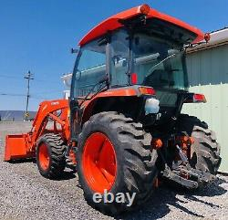 2019 Kubota L3560d 4x4 Diesel Tractor Loader Enclosed Clean Low Cost Shipping