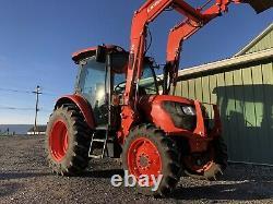 2019 Kubota M4-071d 4x4 Tractor Loader Ultra Grand Cab Nice! Cheap Shipping