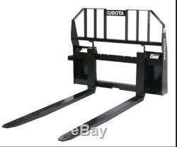 2019 Kubota Tractor BX2380RV60 /Includes Bucket, Grapple, Pallet Fork, Mower