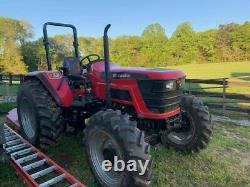 2019 Mahindra 6065 4WD Farm Tractor (Only 101 Hours)