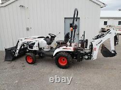 2020 Bobcat Ct1025 Tractor/ Fl6 Loader & Bh66 Backhoe, 24.5 HP Diesel, 4x4, Hydro