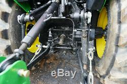 2020 John Deere 3025E 4x4 Diesel Compact Tractor 300E Bucket Blade Bush Hog 13hr