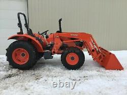 2020 KUBOTA M6060D TRACTOR With LOADER, 2 POST ROPS, 4X4, 3 PT, 540 PTO, 16 HRS