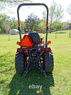 2020 Kubota B2301 HST Tractor and frontend loader only 19 Hours Kubota Warranty
