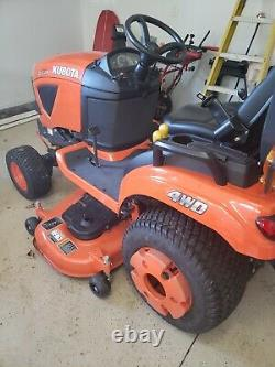 2020 Kubota BX1880 4X4 Mower Tractor with Only 17 Hours