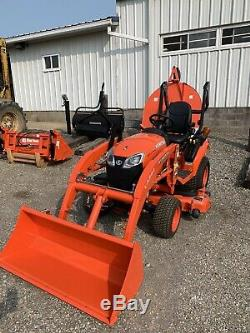 2020 Kubota BX2380 with Loader & 54 Mower Deck Unit Only Has 16 Hours