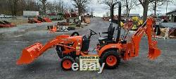 2020 Kubota BX23S Compact Loader Tractor WithBackhoe. Only 22 Hours! Warranty