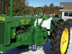 38 John Deere Unstyled G Antique Tractor