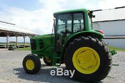 6420 05 John Deere tractor 104 hp turbo charged triple remotes, dual PTO