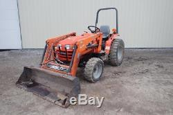AGCO ST30 Tractor WithAGCO SL44 Loader, 869 Hours! , 4X4, 28 HP Diesel Engine, 3 Pt