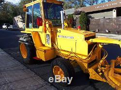Allis Chalmers 714b With 8 Foot Heavy Duty Snow Plow In Nj