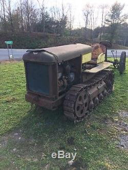 Antique 1920s 1930s Cleveland Tractor Company Inc. CLETRAC / RARE FIND
