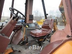 Case 580K TLB Farm Tractor Loader Backhoe