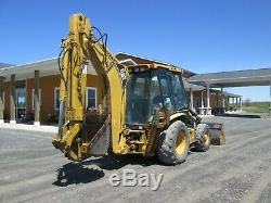 Cat 430D IT Loader Backhoe Used Turbo Diesel 4X4 Cab Heat AC ROPS Quick Coupple