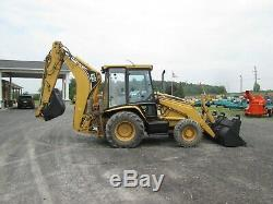 Caterpillar 426C IT Loader Backhoe Used Diesel 4X4 Glass Cab Outriggers 2 Stick
