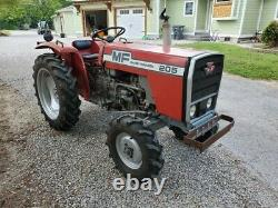 Clean 2 Owner Massey Ferguson 205 Tractor CAN SHIP CHEAP