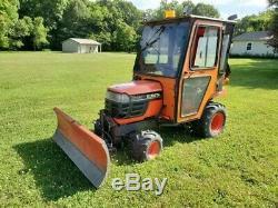 Clean kubota BX1800 4x4 CAB Blade Diesel tractor Clean CAN SHIP CHEAP