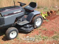 Craftsman Tractor, 3 Point hitch, High/Low Gears, + Plow, 44 Mower, Small Farm