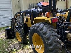 Cub Cadet 32 Horsepower Yanmar Front End Loader With 5 Foot Finishing Mower