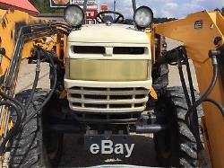 Cub Cadet 8454 tractor. 45 HP, 4WD, 8 speed, 4 cyl. Diesel. Comes with loader